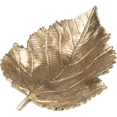 Fuente decorativa Leaf oro peq.