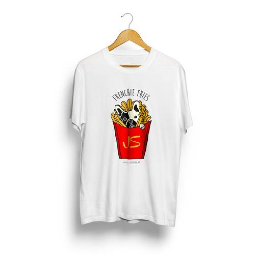 Camiseta Jack Supplies Para Hombre Frenchie Fries - Blanco