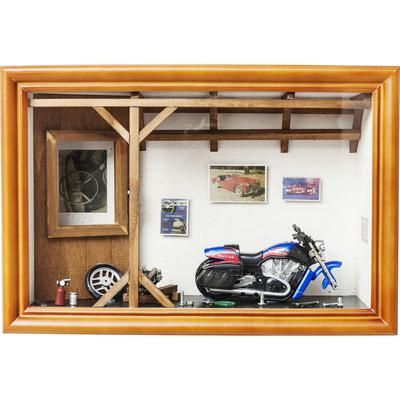 Vitrina decorativa Garage Motorbike