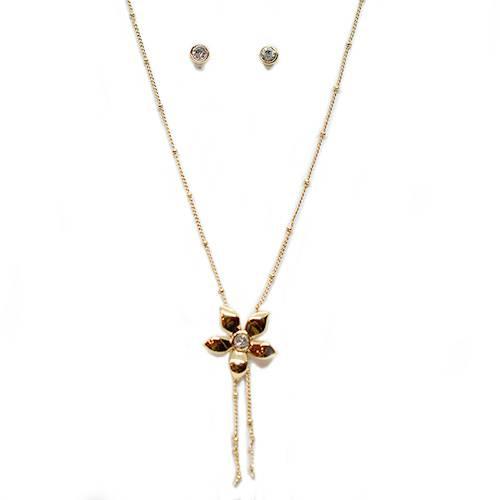 Collar + Aretes Bellavista 087613 Plata - Tessor