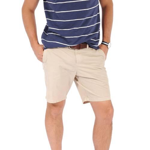 Bermuda Essex Color Siete para Hombre - Beige