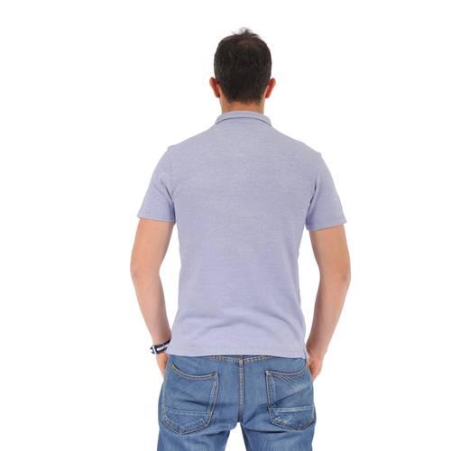 Polo Color Siete para Hombre- Azul