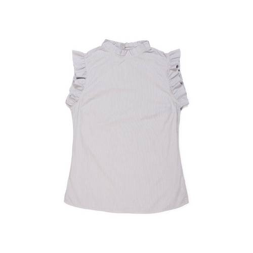 Blusa Color Siete para Mujer - Gris