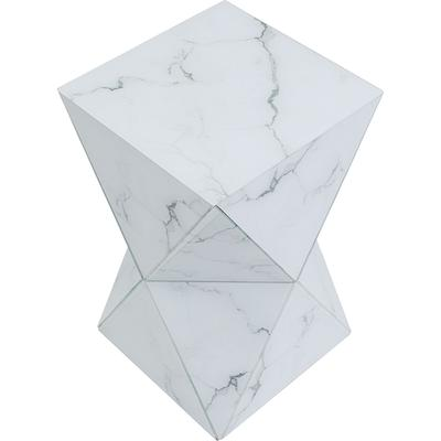 Mesa auxiliar Luxury Triangle Marble