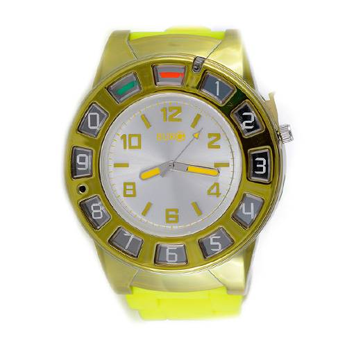 Reloj 9205 Amarillo/Dorado BU-WP09205