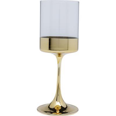 Vaso vino Electra oro