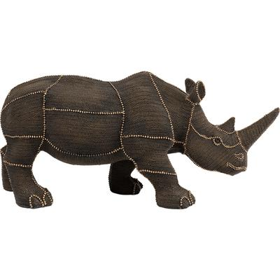 Objeto decorativo Rhino Rivets Pearls
