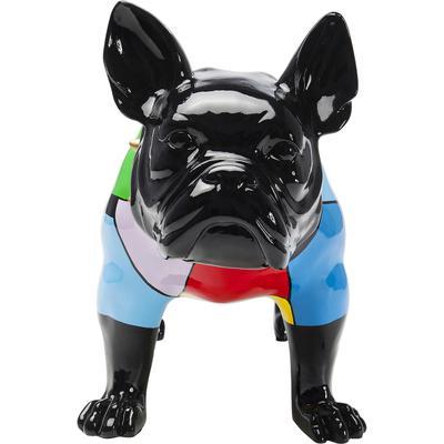 Figura decorativa  Bulldog Colore