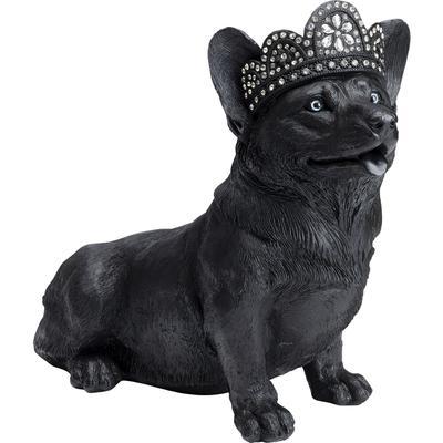 Figura deco Royal Sitting Corgi negro 44cm