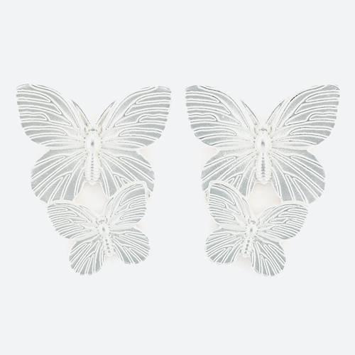 Aretes Mariposa Bronce