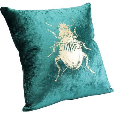 Cojín Bug verde 45x45cm