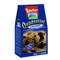 Galleta Quadratini Crema De Chocolate 125g