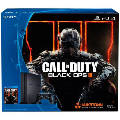 PlayStation 4 500GB + Call of duty Black Ops 3
