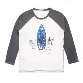 Camiseta playa para niño