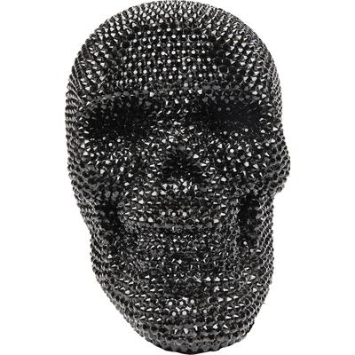 Objeto decorativo Crystal Skull negro