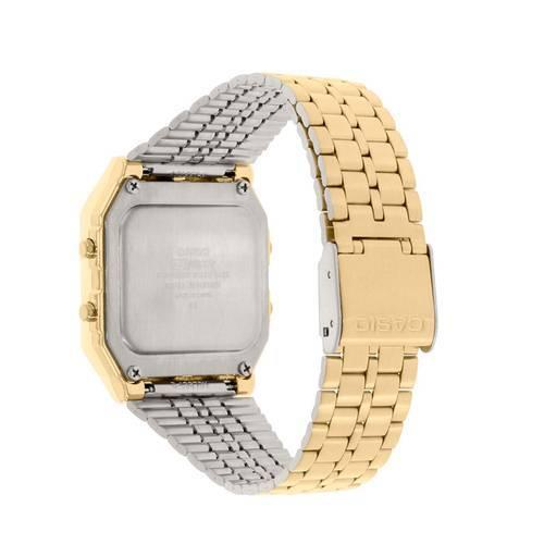 Reloj Análogo Negro-Dorado CA-A-500WGa-1 - Casio