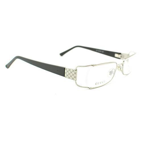Gafas Oftálmicas 58-85K Plata - Gucci