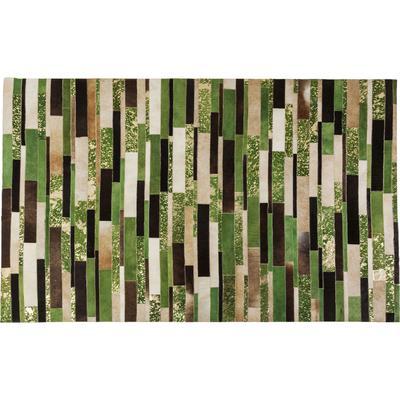Alfombra Brick verde 170x240cm