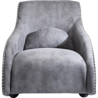 Sillón basculante Swing Ritmo Vintage gris