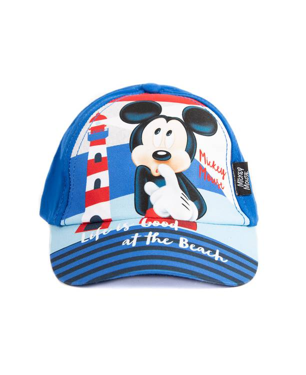 Gorra Infantil Azul Mickey Mouse