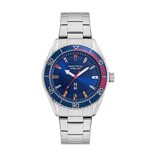 Reloj Finn world Azul - Plateado
