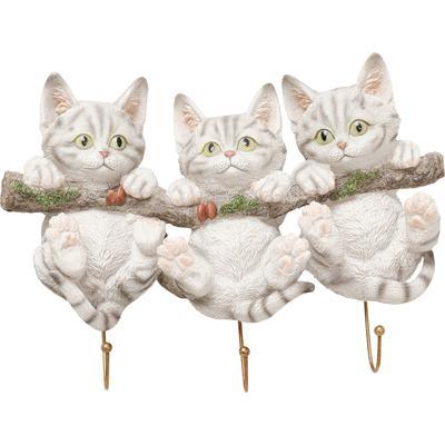 Perchero pared Three Mini Cats