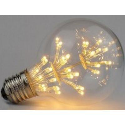 BOMBILLA LED Fuegos artificiales Forma G80 - Rosca E27 - Luz Cálida - Dimerizable