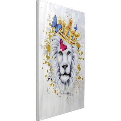 Cuadro King of Lion 120x90