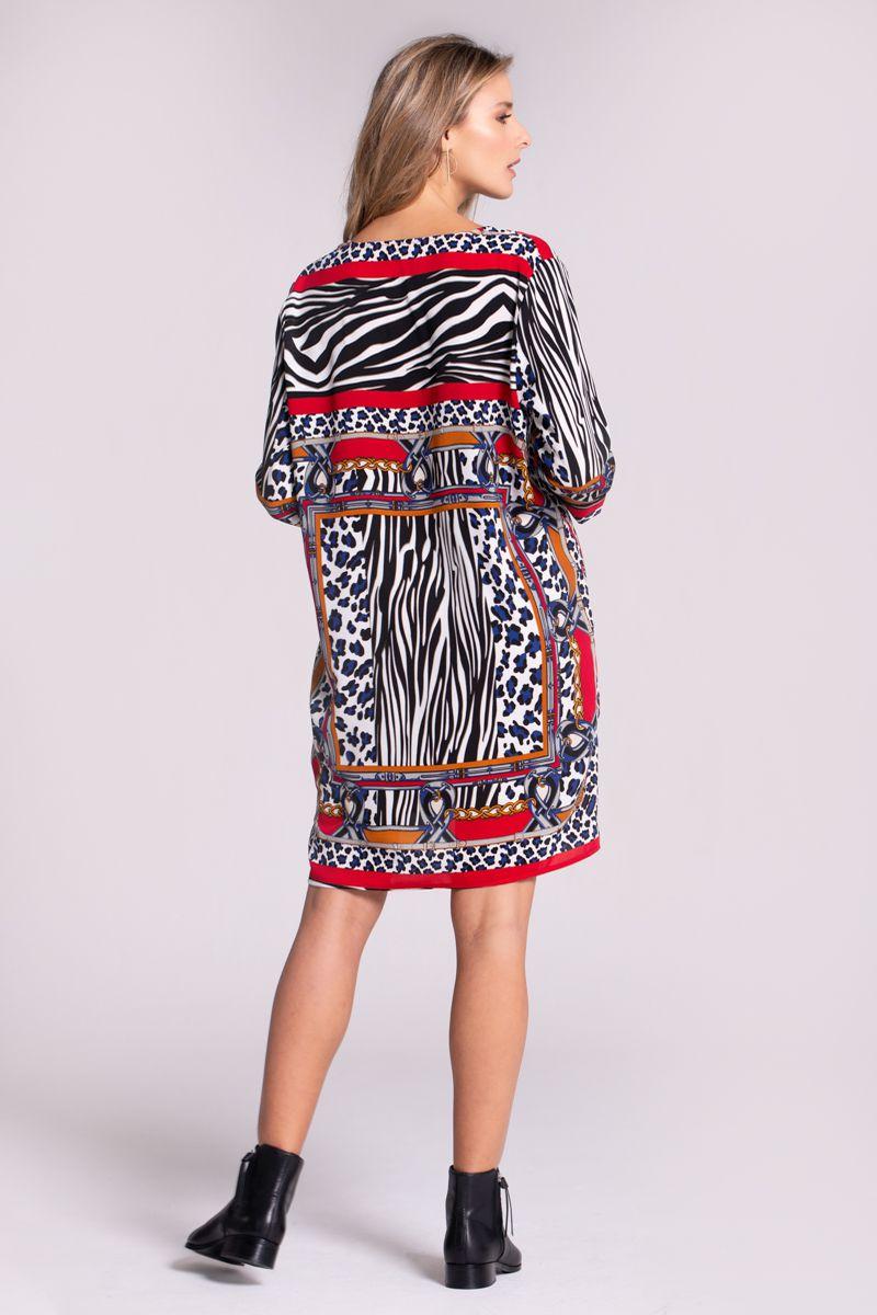 cbdfe031b4 VESTIDO ANIMAL PRINT - Spírito Tienda online - Moda femenina