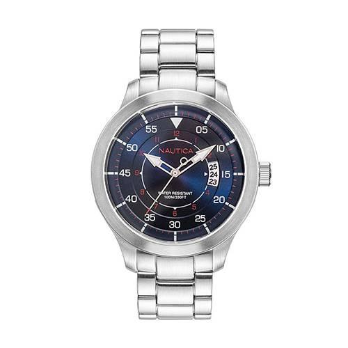 Reloj point loma Azul - Plateado