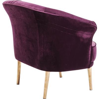 Sillón púrpura Rain