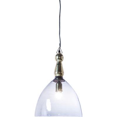 Lámpara Dusty Bell azul 48cm