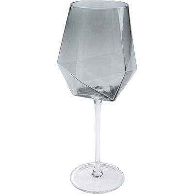 Vaso vino Diamond Smoke