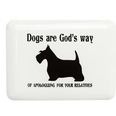 Cartel decorativo Dogs