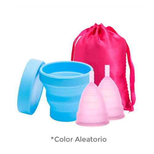 Set x 2 copas menstruales Classic vivacup aleatorio