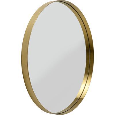 Espejo Curve MO redondo latón  Ø 60cm