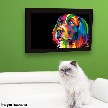 CUADROS 70x50 COLORS ANIMALES ART INDUSTRY
