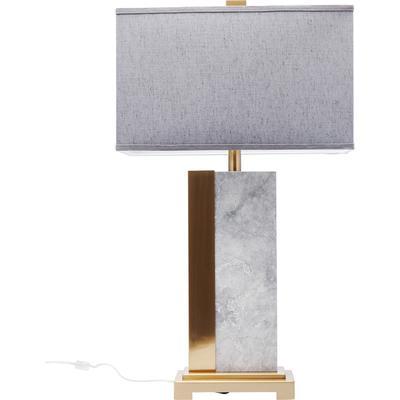 Lámpara mesa Charleston mármol 80cm