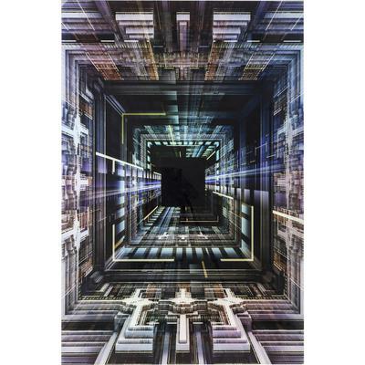Cuadro cristal Science Fiction 120x180cm