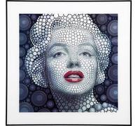 Cuadro 3D Marilyn 60x60cm