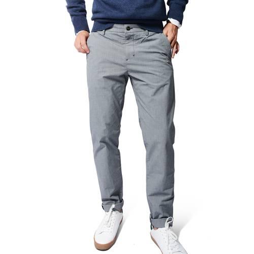 Pantalón Business Active Color Siete Para Hombre - Gris