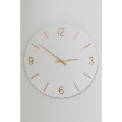 Reloj pared Oscar blanco Ø60cm