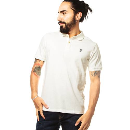 Polo Jack Supplies Para Hombre - Blanco