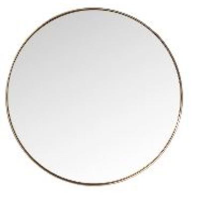 Espejo Curve MO redondo cobre  Ø100cm