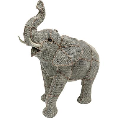 Objeto decorativo Walking Elephant Pearls