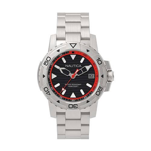 Reloj Edgewater Negro - Plateado