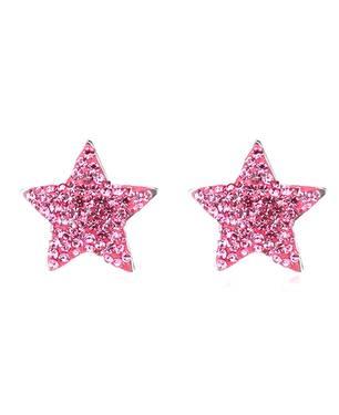 Aretes Star Ne45-P Rosado - Warme Farben