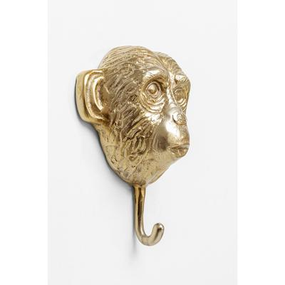 Perchero pared Monkey oro