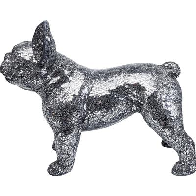 Objeto decorativo Crystal Dog