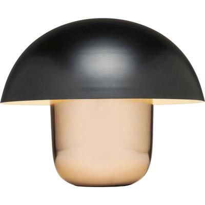 Lámpara mesa Mushroom cobre negro